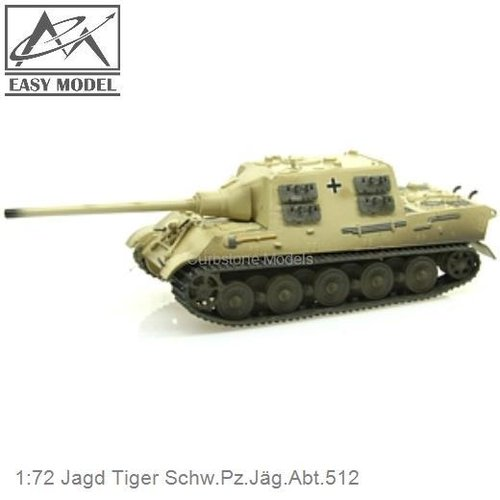 1:72 Jagd Tiger Schw.Pz.Jäg.Abt.512 (Easy Model 36105)