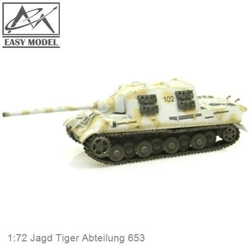 1:72 Jagd Tiger Abteilung 653 (Easy Model 36115)