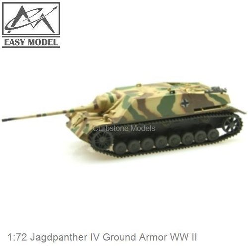 1:72 Jagdpanther IV Ground Armor WW II (Easy Model 36127)