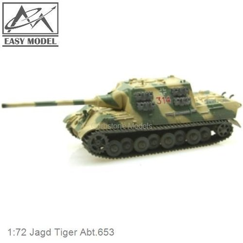 1:72 Jagd Tiger Abt.653 (Easy Model 36112)