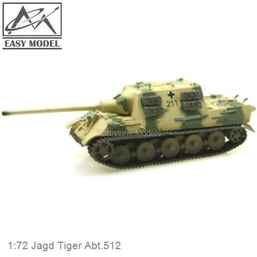 1:72 Jagd Tiger Abt.512 (Easy Model 36110)