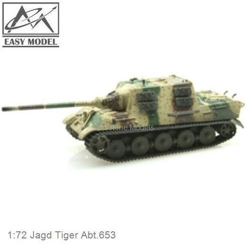 1:72 Jagd Tiger Abt.653 (Easy Model 36111)