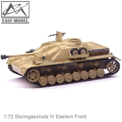 1:72 Sturmgeschutz IV Eastern Front (Easy Model 36131)