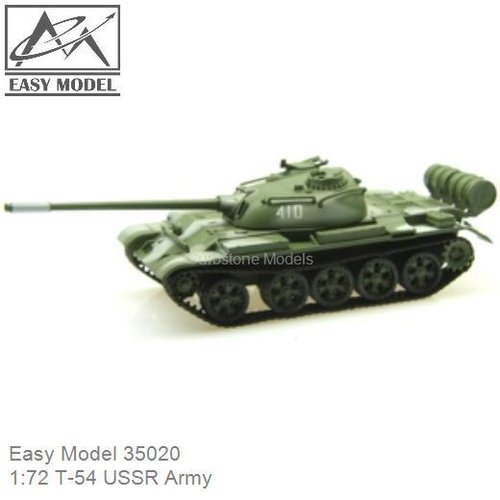 1:72 T-54 USSR Army (Easy Model 35020)