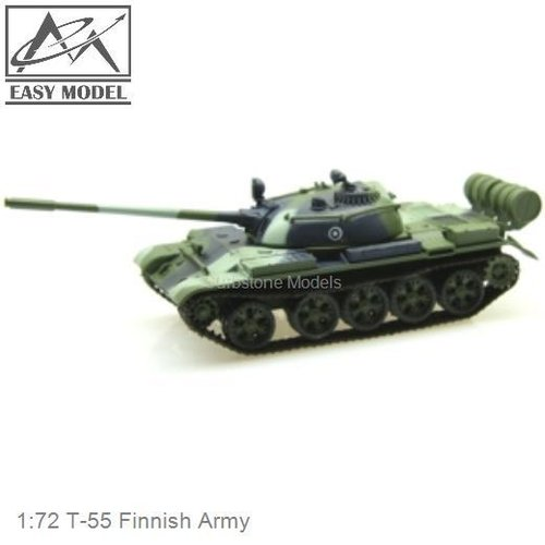 1:72 T-55 Finnish Army (Easy Model 35025)
