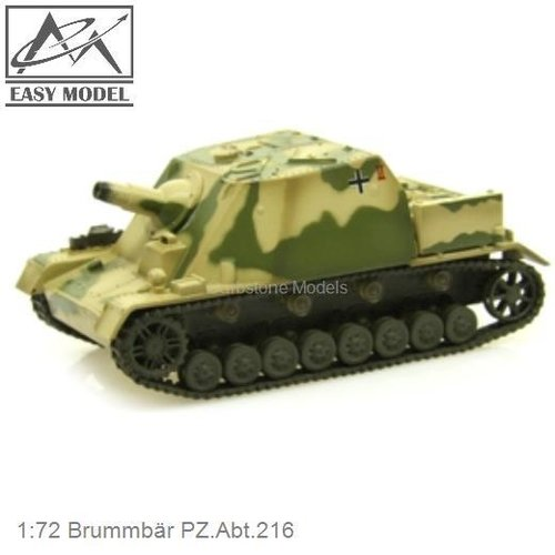 1:72 Brummbär PZ.Abt.216 (Easy Model 36118)