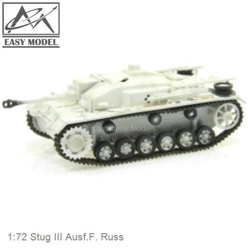 1:72 Stug III Ausf.F. Russ (Easy Model 36145)