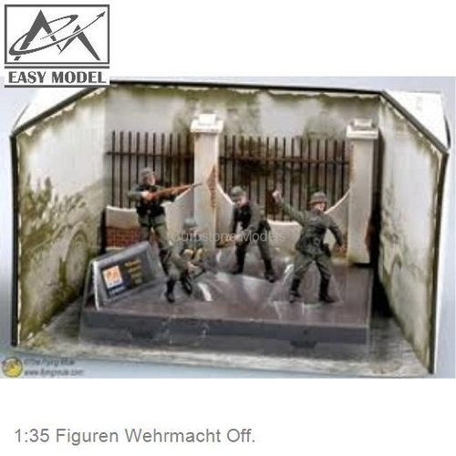 1:35 Figuren Wehrmacht Off. (33601)