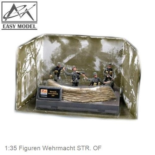 1:35 Figuren Wehrmacht STR. OF (33603)