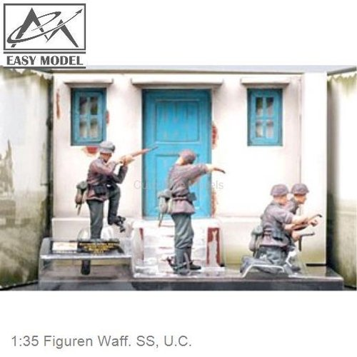1:35 Figuren Waff. SS, U.C. (Easy Model 33604)