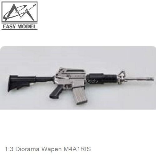 1:3 Diorama Wapen M4A1RIS (Easy Model 39110)