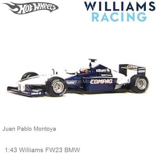 Modelcar 1:43 Williams FW23 BMW | Juan Pablo Montoya (Hotwheels 50212)