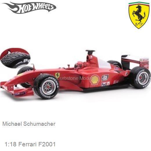 Modellauto 118 Ferrari F2001