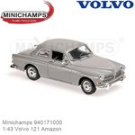 Modelauto 1:43 Volvo 121 Amazon (Minichamps 940171000)