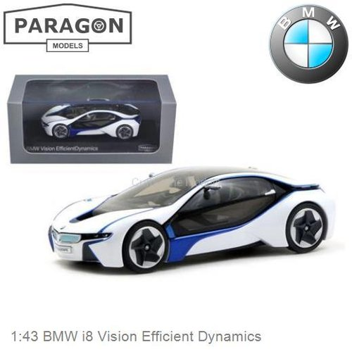 Modelauto 1:43 BMW i8 Vision Efficient Dynamics (Paragon Models PA-91021)
