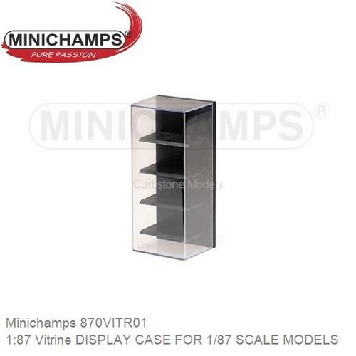 1:87 Vitrine DISPLAY CASE FOR 1/87 SCALE MODELS (Minichamps 870VITR01)