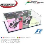 Modelauto 1:43 Force India VJM11 | Esteban Ocon (Minichamps 447181131)