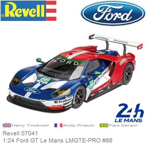 Bausatz 1:24 Ford GT Le Mans LMGTE-PRO #66 | Harry Tincknell (Revell 07041)