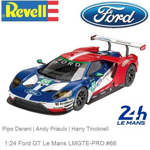 Bausatz 1:24 Ford GT Le Mans LMGTE-PRO #66 | Pipo Derani (Revell 07041)