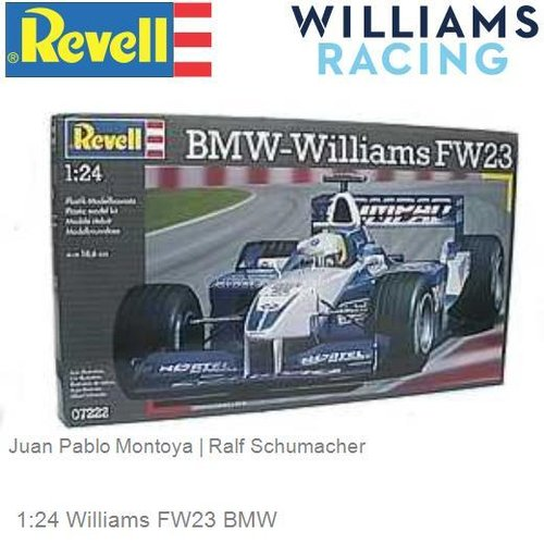 1:24 Williams FW23 BMW | Juan Pablo Montoya (Revell 07222)