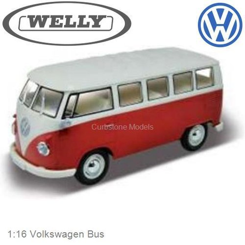 1:16 Volkswagen Bus (Welly Welly86001rcr)