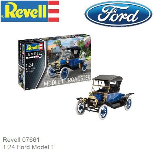 Bouwpakket 1:24 Ford Model T (Revell 07661)
