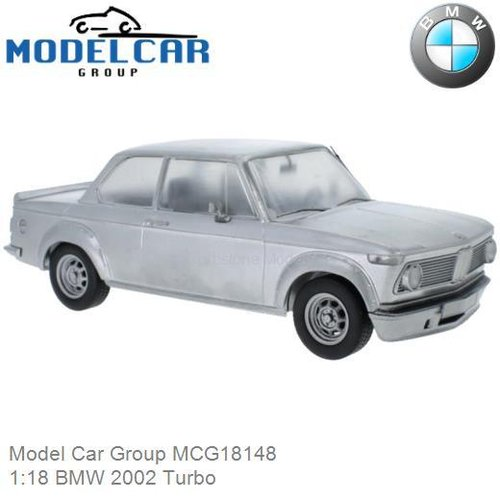Modelauto 1:18 BMW 2002 Turbo (Model Car Group MCG18148)