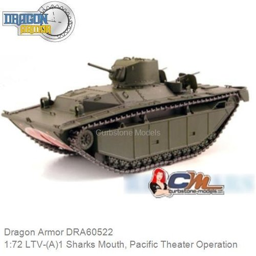 1:72 LTV-(A)1 Sharks Mouth, Pacific Theater Operation (Dragon Armor DRA60522)