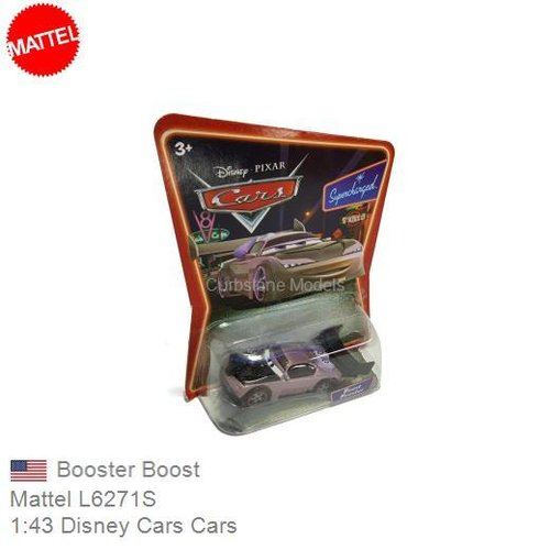 Modelauto 1:43 Disney Cars Cars | Booster Boost (Mattel L6271S)