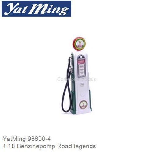 1:18 Benzinepomp Road legends (YatMing 98600-4)
