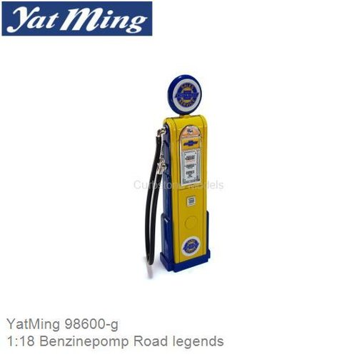 1:18 Benzinepomp Road legends (YatMing 98600-g)