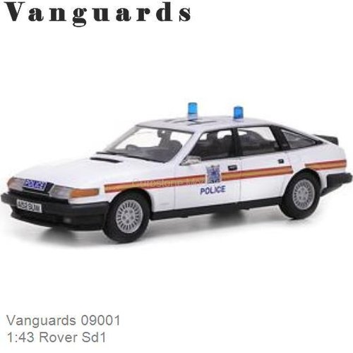 1:43 Rover Sd1 (Vanguards 09001)