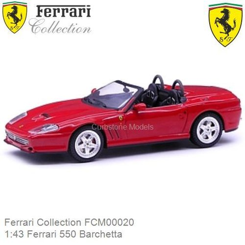 Modelauto 1:43 Ferrari 550 Barchetta (Ferrari Collection FCM00020)