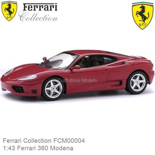 Modelauto 1:43 Ferrari 360 Modena (Ferrari Collection FCM00004)