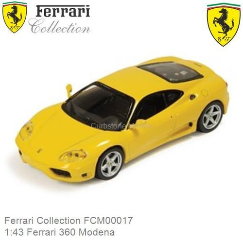 Modelauto 1:43 Ferrari 360 Modena (Ferrari Collection FCM00017)