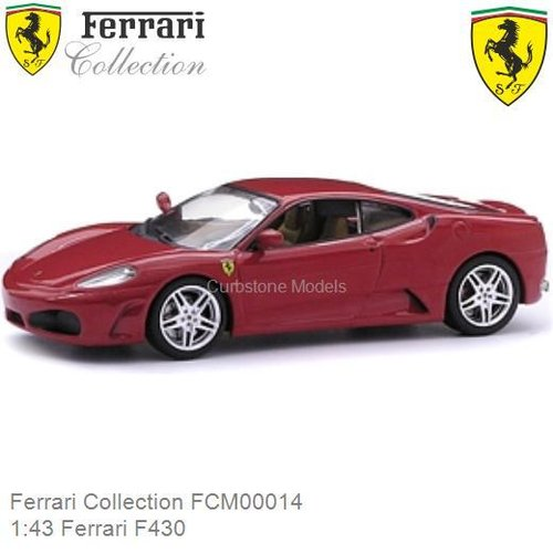 Modelauto 1:43 Ferrari F430 (Ferrari Collection FCM00014)