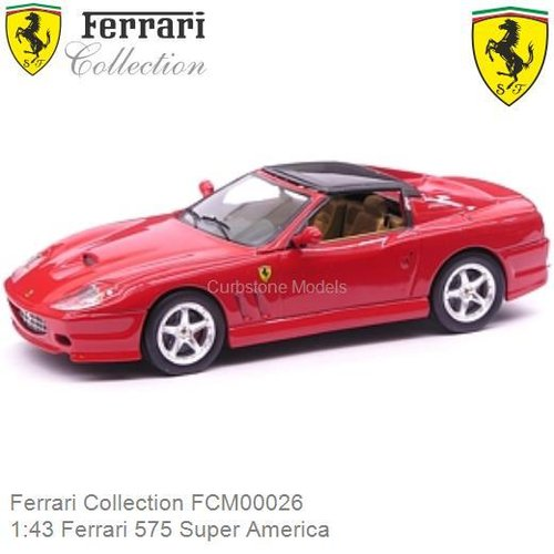 Modelauto 1:43 Ferrari 575 Super America (Ferrari Collection FCM00026)