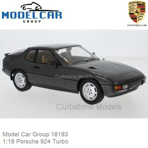 Modelauto 1:18 Porsche 924 Turbo (Model Car Group 18193)