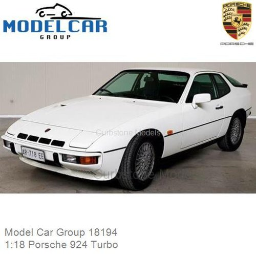 Modelauto 1:18 Porsche 924 Turbo (Model Car Group 18194)