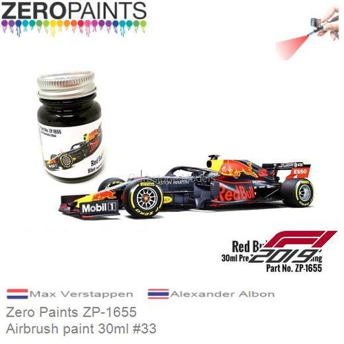 Airbrush paint 30ml #33 | Max Verstappen (Zero Paints ZP-1655)