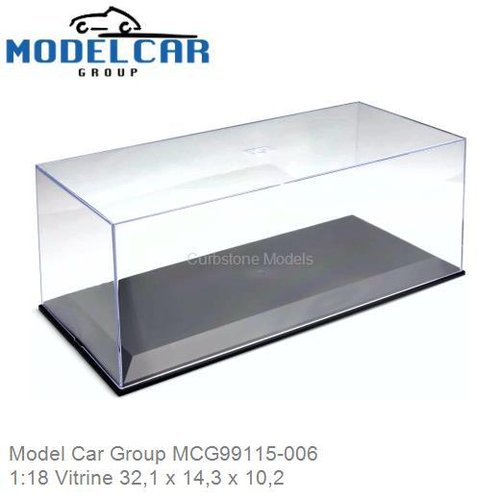 1:18 Vitrine 32,1 x 14,3 x 10,2 (Model Car Group MCG99115-006)