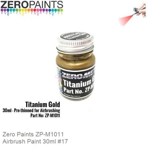 Airbrush Paint 30ml #17 (Zero Paints ZP-M1011)