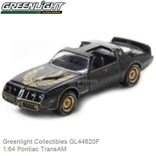 Modelauto 1:64 Pontiac TransAM (Greenlight Collectibles GL44620F)