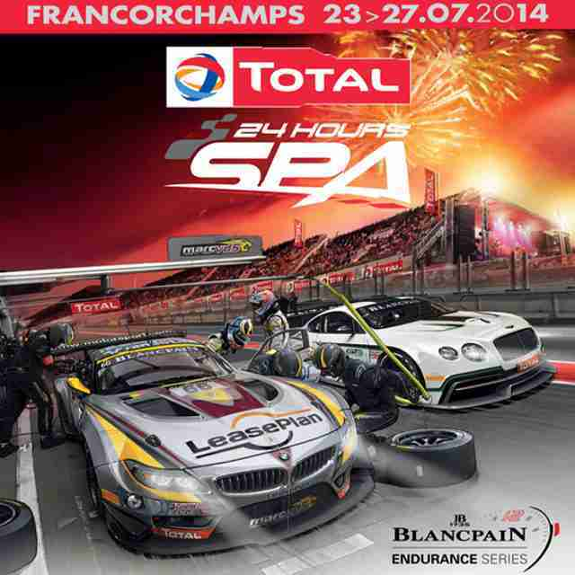 2014 SPA24h Promotional poster