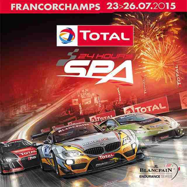 2015 SPA24h Promotional poster